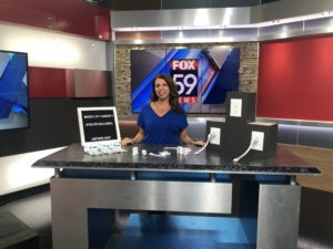 USBthere, charger lock, WXIN, FOX59, Indianapolis