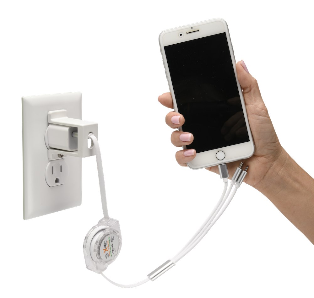 USBthere, USBthere complete kit, phone charger lock, usb charger lock